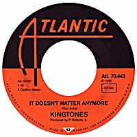 It Doesn't Matter Anymore - Cotillion