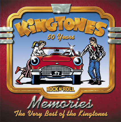 Memories: The Best of The Kingtones CD Front Art