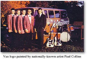 Kingtones Band and Van